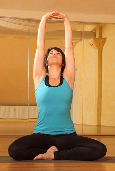 Yogalehrerin Alexandra Frank